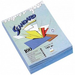RAINEX Chemises dossier standard, 180 g/m2, jaune canari