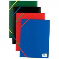 ELBA Chemise standard Rabats élastiques Polypro 24x32 Rouge