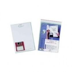 """EXACOMPTA Pochette pour disquettes 3,5"""" et documents format A4"""