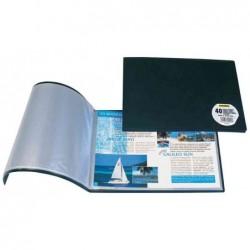 ELBA Protège-documents Memphis 17 x 22 cm 20 pochettes Assortis