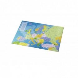 """ESSELTE Sous-mains en plastique """"Carte européenne"""" 40 x 53 cm"""