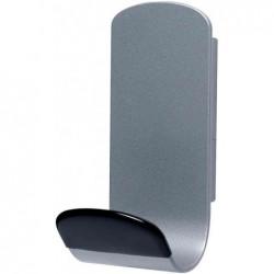 UNILUX Patère magnétique STEELY 381 Capacité 12 Kg Gris métal