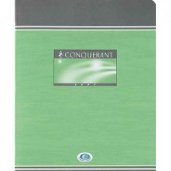 CONQUÉRANT SEPT 1x Cahier d'exercices, SEYES, 170 x 220 mm 60f 70g
