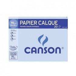 CANSON Pochette 12 F calque A3 70g 17151
