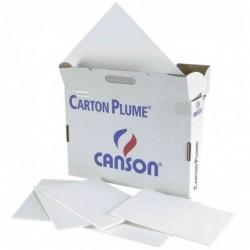 """CANSON Carton plume """"Classic"""" format A4 Blanc 5mm Lot de 34"""