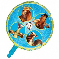 "SUSY CARD Ballon feuille ""Ice Age"""