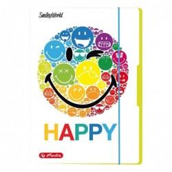 HERLITZ Chemise de rangement SmileyWorld Rainbow, A3