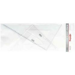 ROTRING Kit de 2 équerres à dessin Centro 45 36 cm et 60 degrés 41 cm