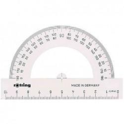 ROTRING Rapporteur 180 degrés 10 cm