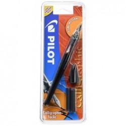 PILOT Stylo plume de calligraphie Plumix Moyen corps noir  tracé: 0,58 mm
