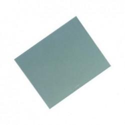 LÄUFER Sous-mains DURELLA, gris, 520 x 650 mm