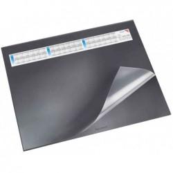 LÄUFER Sous-mains rabat transparentDURELLA DS 400 x 530 mm avec calendrier Noir