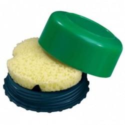 LÄUFER Boîte à éponge ronde Diam 55mm Coloris Aléatoire
