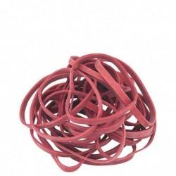 LÄUFER Bracelet caoutchouc RONDELLA 1.000 g, 100 x 5 mm rouge