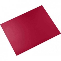 LÄUFER Sous-mains DURELLA 400 x 530 mm Rouge