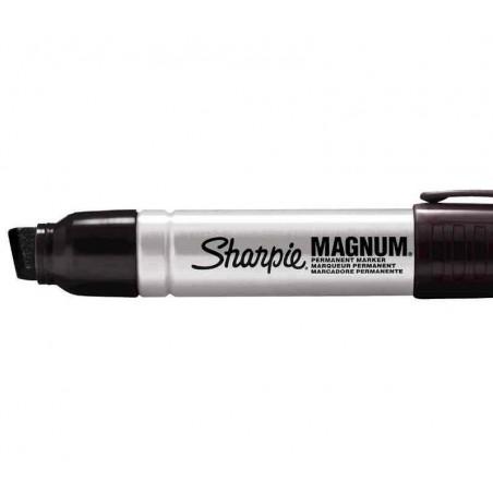 SHARPIE Marqueur permanent METAL MAGNUM, pointe biseautée, noir