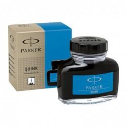 PARKER Flacon 57 ml d'encre Quink Z45 Bleu royal