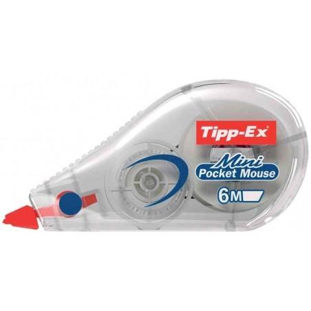 """TIPP-EX Roller correcteur """"Mini Pocket Mouse"""" 5 mm x 6 m"""