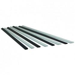 EXACOMPTA Lot de 25 Baguette à relier Serodo 3 mm Noir