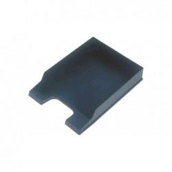 HELIT Lot de 6 Corbeille à courrier Standard pour A4 polystyrène Bleu