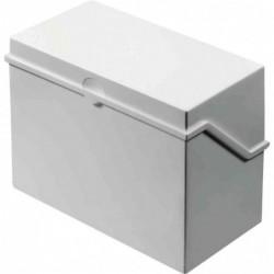 HELIT petite caisse de fichier format A5 à l'italienne, gris