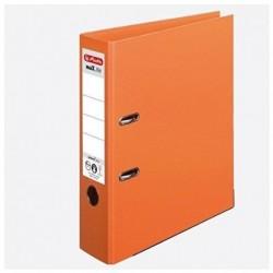 HERLITZ Classeur à levier maX.file Protect Plus Polypro Int / Ext Dos de 80 mm Orange