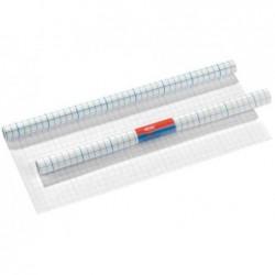 HERLITZ Rouleau Protège-livre Plastique autoadhésif 400 mm x 3m