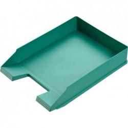 HELIT Lot de 5 Corbeilles à courrier Economy A4 Polystyrène Vert