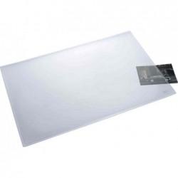 HELIT Sous-main PVC 530 x 400 mm Transparent mat