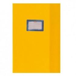 HERLITZ Protège-cahiers Structuré A4 Avec étiquette collée Bleu