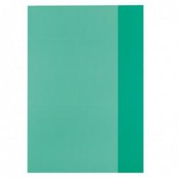 HERLITZ Protège-cahiers format A4 PP Vert transparen
