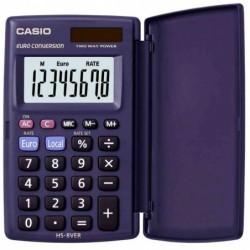 CASIO Calculatrice de poche à Clapet HS-8 VER 8 Chiffres BIG solaire et pile