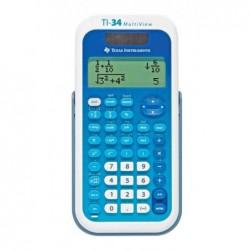TEXAS INSTRUMENTS Calculatrice scolaire TI-34 Multi View 4 lignes 16 caractères