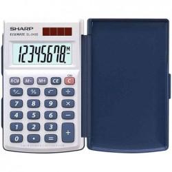 SHARP Calculatrice SHARP EL-243 S, fonctionnement solaire/batterie