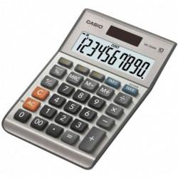 CASIO Calculatrice de bureau MS-100 BM, solaire /  batterie
