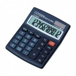 CITIZEN Calculatrice de table SDC-812BN 12 Chiffres Noir