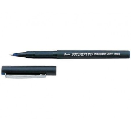 PENTEL Roller encre infalsifiable DOCUMENT PEN MR205D 0,25 mm Noir