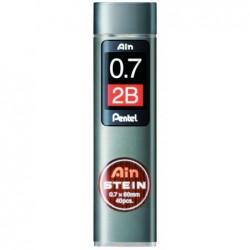 PENTEL Etui de 40 mines 0,7 mm AIN STEIN C277 dureté 2B