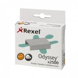 REXEL Boite de 2500 Agrafes Odyssey Grande capacité