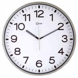 CEP horloge silencieuse 30 cm, montre à quartz, argent