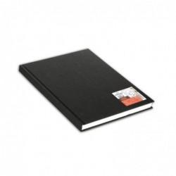 CANSON Bloc de croquis ARTBOOK ONE A6 10x15,2 cm 200 pages 100g Noir