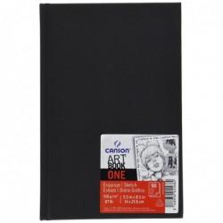 CANSON Bloc Croquis ARTBOOK ONE Format A4 200 Pages 100g Noir