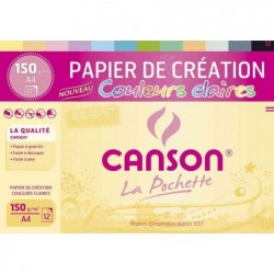 CANSON Pochette de 12...