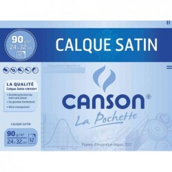 CANSON Calque satin, 240 x 320 mm, 90 g/m2