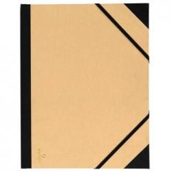 """CANSON Carton à dessin / pochette """"Kraft"""" 520 x 720 mm avec élastique"""