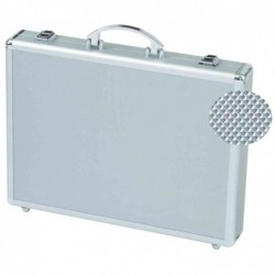 "ALUMAXX attaché-case ""MINOR"" aluminum argenté dimensions ext 405 x 65 x 310 mm"