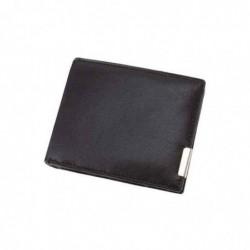 ALASSIO portefeuille, format à l'italienne, cuir, noir
