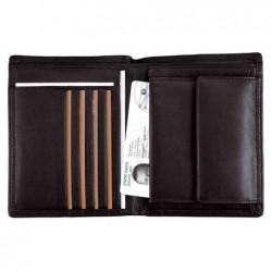 "ALASSIO porte-monnaie combiné ""RFID Document Safe"", cuir"
