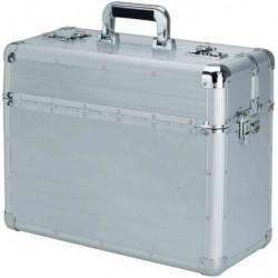 "ALUMAXX Pilote-case ""BETHA"" Aluminium (L)470 x (P)200 x (H)370 mm Argent"