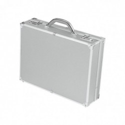 "ALUMAXX attaché-case ""OCTAN"" Aluminium 2 compartiments Argent"